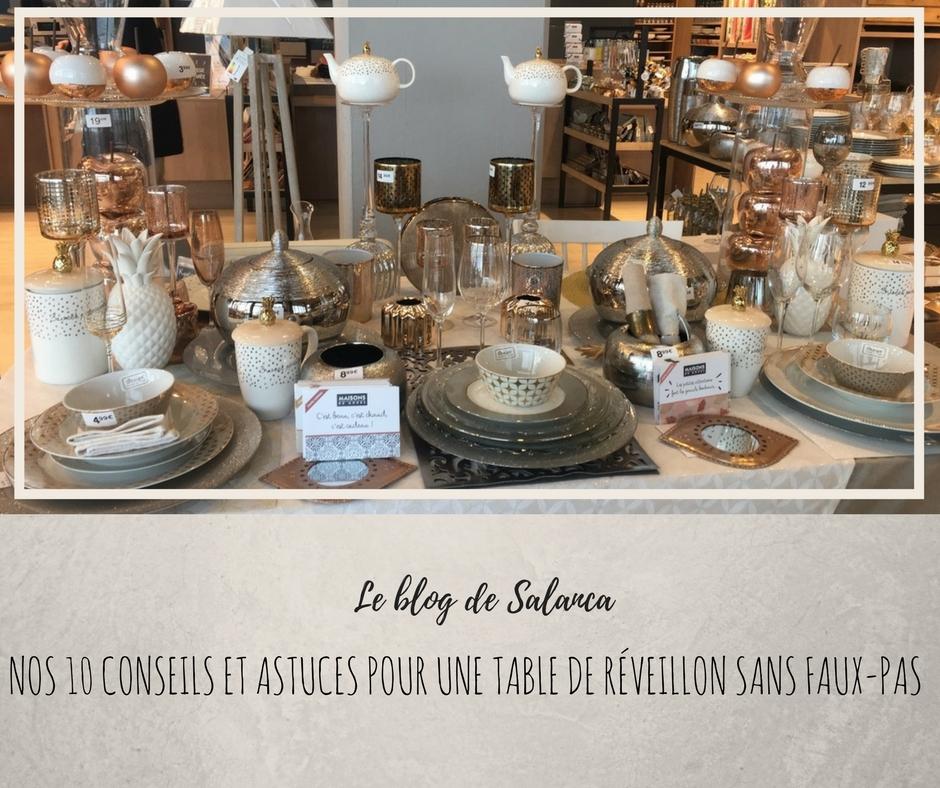 Blog Lifestyle Une D Coration De Table Tendance Pour